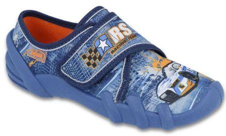 Befado fiú házicipő Skate 25 kék