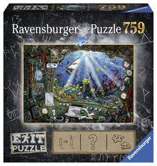 Ravensburger Exit Puzzle: Tengeralattjáró 759 darab