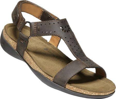 KEEN Kaci Ana T Strap Sandal W Dark Earth US 8 EUR 38,5