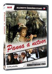 Panna a netvor - edice KLENOTY ČESKÉHO FILMU (remasterovaná verze) - DVD