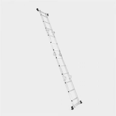 VonHaus višenamjenske aluminijske ljestve, 3,5m