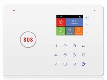 DELTA SECURITY brezžična Wi-Fi GSM alarmna centrala MT 66W