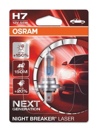 Osram Night breaker® laser H7 Single Blister