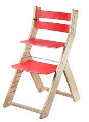 Wood Partner Dětská rostoucí židle SANDY natur