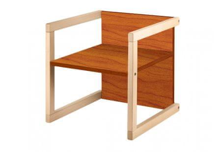 Wood Partner gyerekszék WENDY 3 az 1-ben lakk/cseresznye