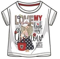 Mix 'n Match koszulka dziewczęca z nadrukiem