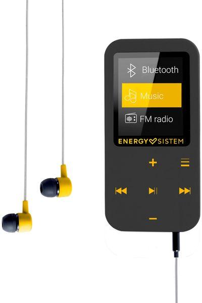 MP4 přehrávač energy sistem mp4 bluetooth touch 7 režimů ekvalizéru moderní design záznam hlasu vestavěný mikrofon neodymové magnety ve špuntech 15 h provozu nabíjecí baterie