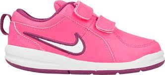 Nike Dívčí tenisky Pico 4 TDV white/pink - růžové 23.5 ružová