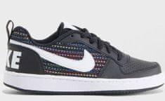 Nike Chlapecké tenisky Court Royale Low SE black/white - černé