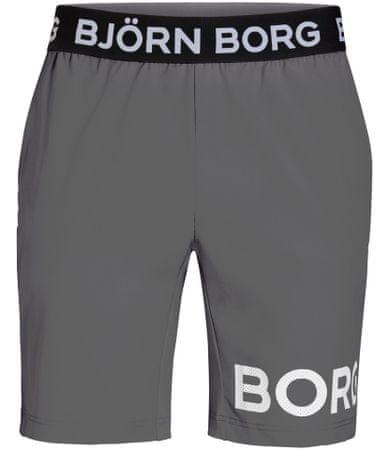 Björn Borg férfi rövidnadrág Shorts August M szürke