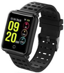 XBlitz Športové inteligentné hodinky Touch, vodotesné, veľkokapacitná batéria 180 mAh