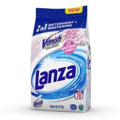 Lanza VANISH 2v1 Ultra White 5,25 kg / 70 pracích dávek