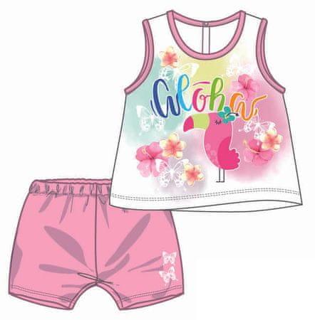 Mix 'n Match dívčí letní set 92 ružová