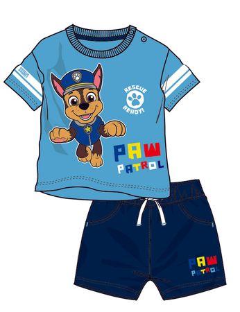Disney by Arnetta chlapecký letní set Paw Patrol 98 modrá