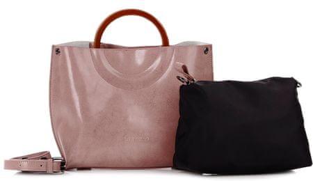 Lorenzo růžová kabelka