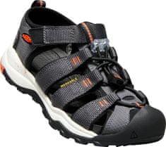 KEEN otroški sandali Newport Neo H2 Jr, siva/oranžna