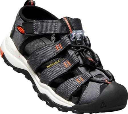 buy online d2de8 d4e1e KEEN otroški sandali Newport Neo H2 Jr, 32-33, siva/oranžna