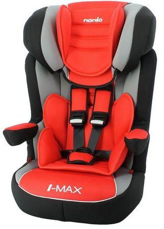 Nania otroški avtosedež I-Max Prestige Ruby, črna/rdeča