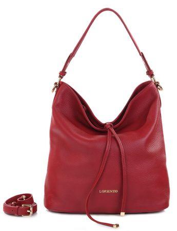 Lorenzo kabelka červená