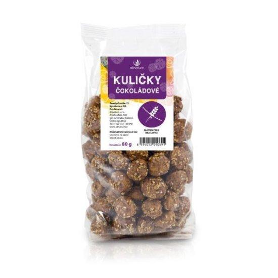 Allnature Guličky čokoládové 80 g