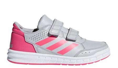 Adidas dívčí tenisky ALTASPORT CF K - šedé 32 šedá