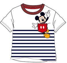 Disney by Arnetta chlapecké tričko Mickey Mouse