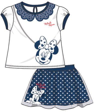 Disney by Arnetta dívčí letní set Minnie 122 modrá