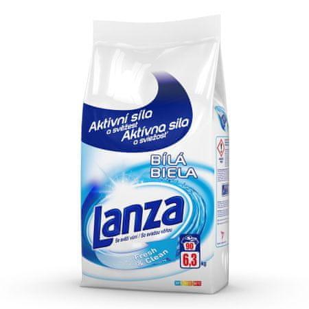 Lanza Fresh&Clean fehér ruhákra 6,3 kg / 90 mosási adag
