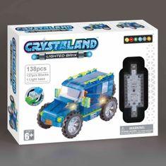 CrystaLand Crystal kocke - Jeep, 138 kos