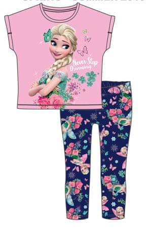 Disney by Arnetta dekliški poletni komplet Frozen, 98, roza