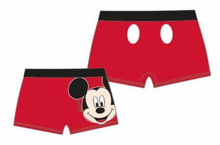 Disney by Arnetta kąpielówki chłopięce Mickey Mouse 110 czerwone