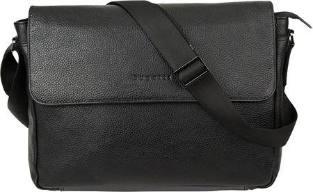 BUGATTI Pánska taška na notebook Citta 49304601 Black