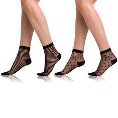 Bellinda vzorovaný set silonkových ponožek TRENDY SOCKS 2 ks