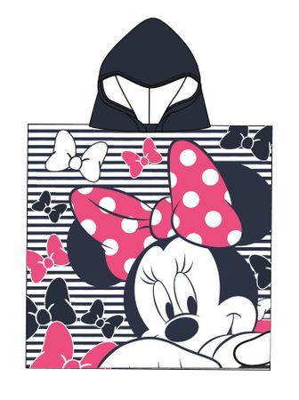 Disney by Arnetta dívčí pončo Minnie modrá