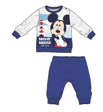 Disney by Arnetta chlapecké pyžamo Mickey Mouse 74 modrá