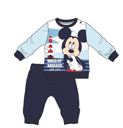 Disney by Arnetta chlapecké pyžamo Mickey Mouse 68 tmavě modrá