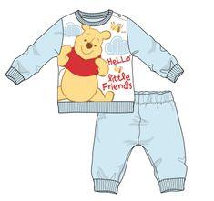 Disney by Arnetta chlapecké pyžamo Medvídek Pů