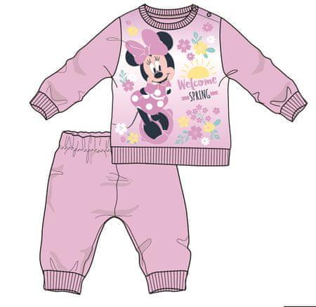 Disney by Arnetta dívčí pyžamo Minnie 74 fialová