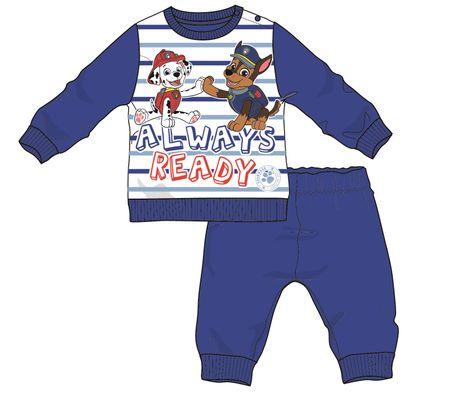 Disney by Arnetta chlapecké pyžamo Paw Patrol 68 modrá