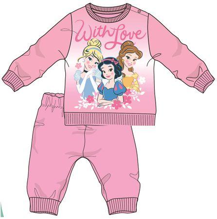 Disney by Arnetta piżama dziewczęca Princess 80 różowy