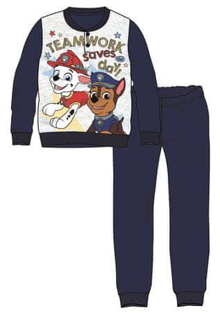 Disney by Arnetta fiú pizsama Paw Patrol 92 sötétkék