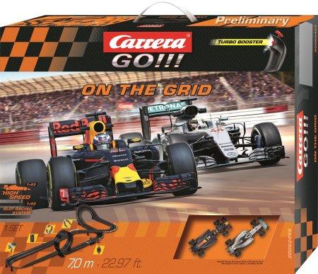 CARRERA tor wyścigowy Carrera GO 62455 On the Grid