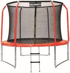 Marimex zestaw pokrowców na trampolinę 244 cm - czerwony