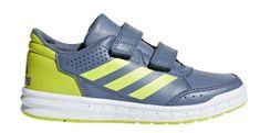 Adidas tenisówki chłopięce AltaSport CF K - szary