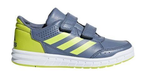 Adidas chlapecké tenisky AltaSport CF K - šedé 28 šedá