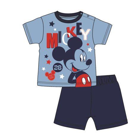Disney by Arnetta chlapecké pyžamo Mickey Mouse 86 modrá