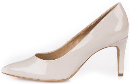 s.Oliver ženski čevlji s peto, 36, smetanova