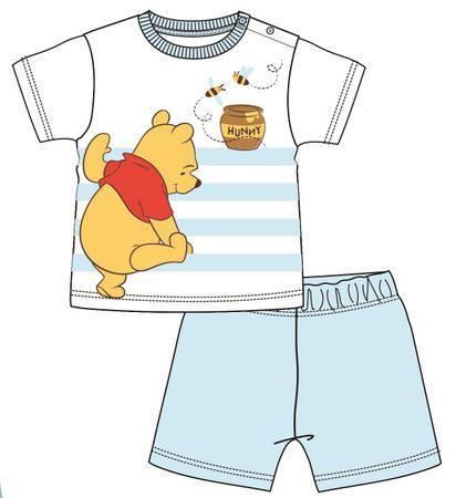 Disney by Arnetta chlapecké pyžamo Medvídek Pů 80 modrá