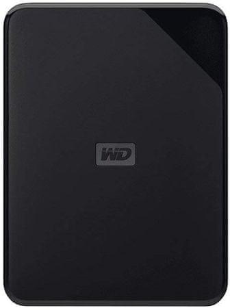 WD vanjski tvrdi disk Elements SE Portable - 2TB, crni (WDBJRT0020BBK-WESN)