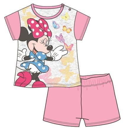 Disney by Arnetta piżama dziewczęca Minnie 68 jasnoróżowy